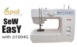 Sewing-Machine-Janome-JJ1004G