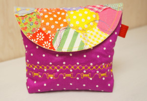 PolkaDot Quilt Pouch copy