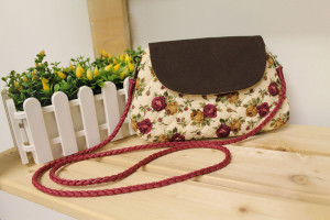Flower Quilt Bag