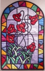 Kursus Jahitan DIY Stained Glass