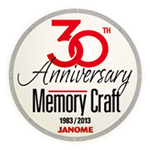 30-tahun-Anniversary-Memory-Craft-Mesin-Jahit-Janome-LogoƒŒ